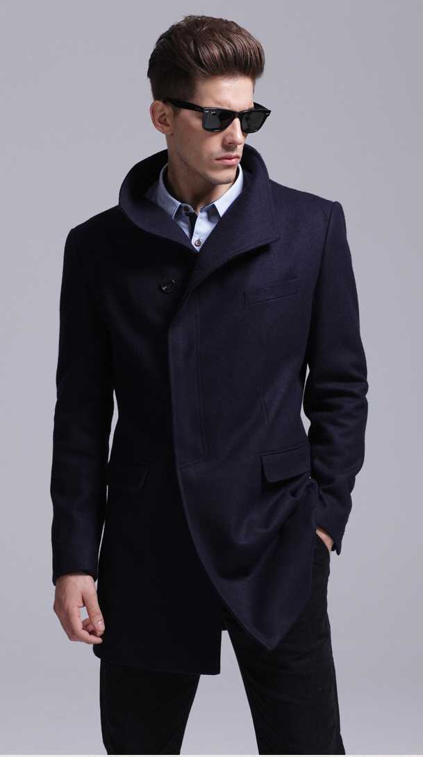 mens navy double breasted peacoat _ Needpeacoat
